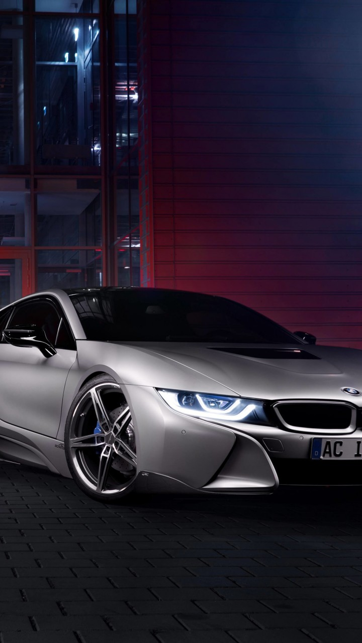 BMW i8 designed by AC Schnitzer Wallpaper for Xiaomi Redmi 2