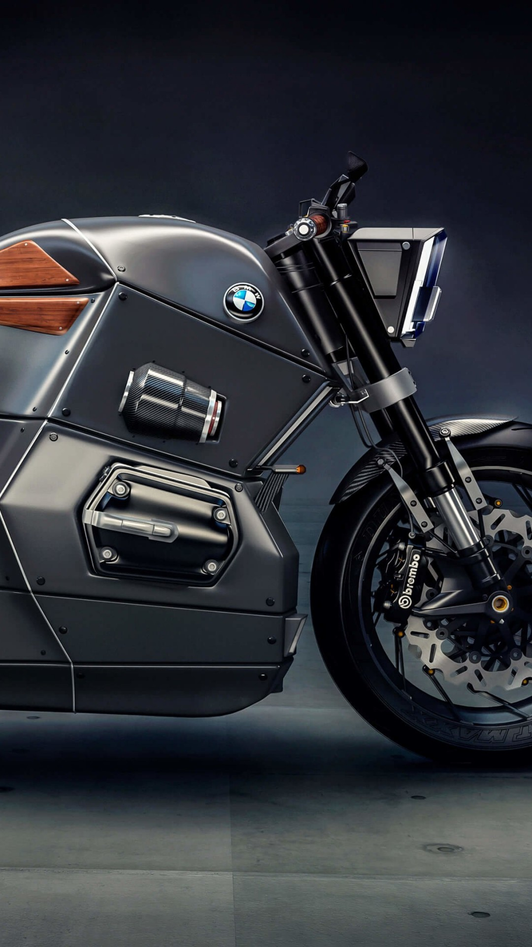 BMW M Bike Concept Wallpaper for SAMSUNG Galaxy S5