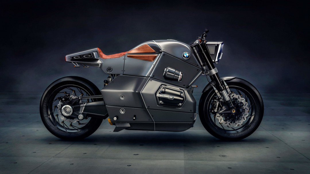 BMW M Bike Concept Wallpaper for Social Media Google Plus Cover