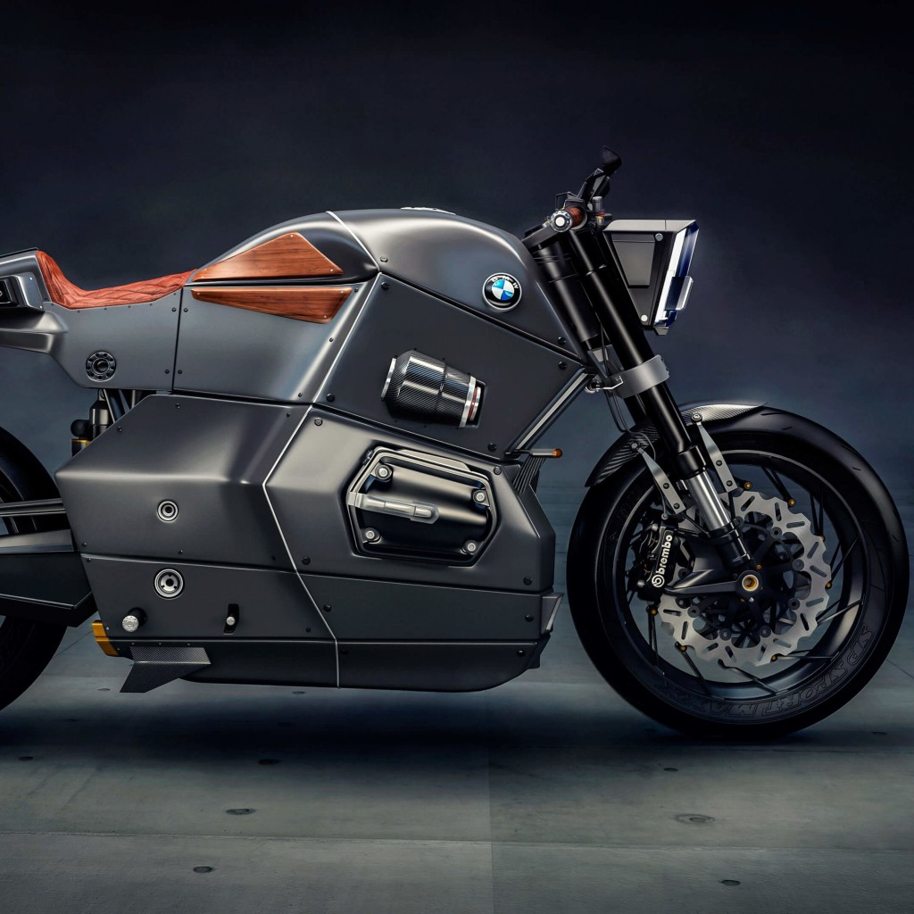 BMW M Bike Concept Wallpaper for Apple iPad 2