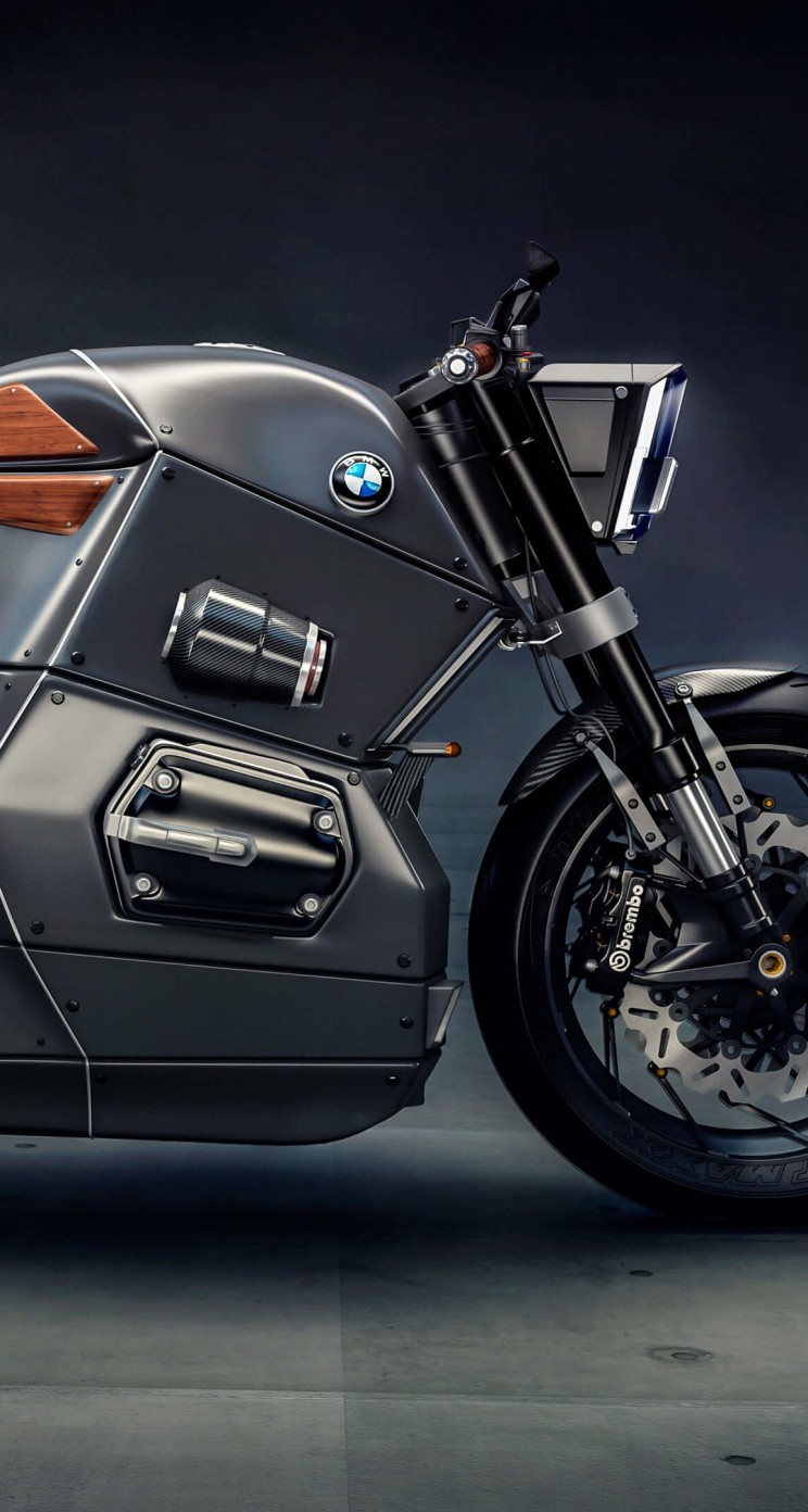 BMW M Bike Concept Wallpaper for Apple iPhone 5 / 5s