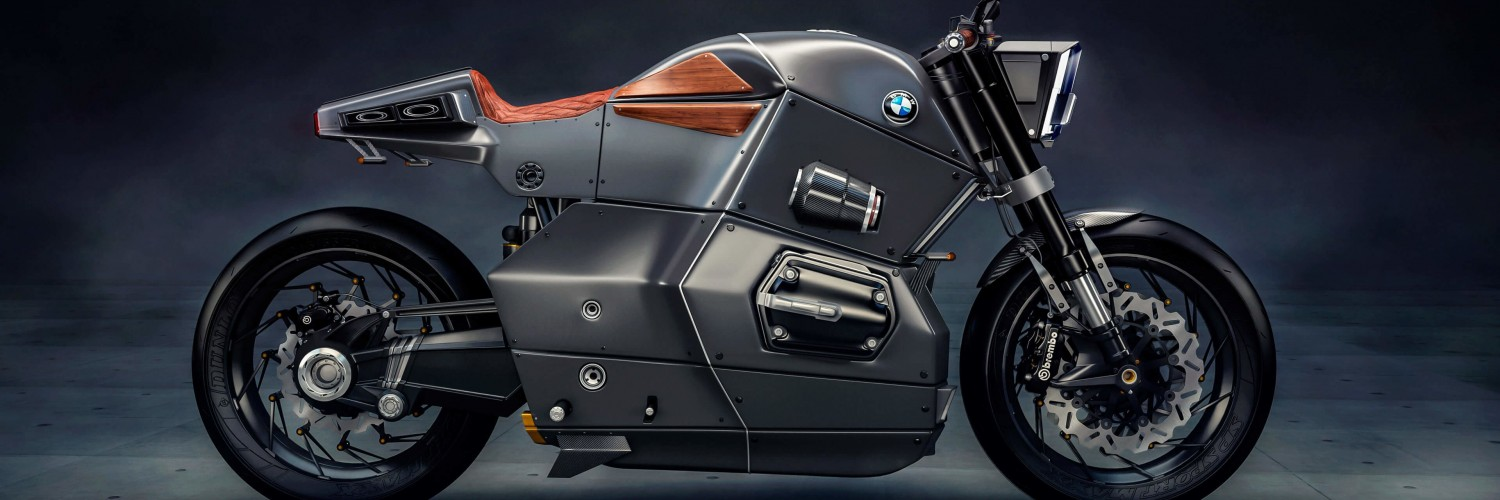 BMW M Bike Concept Wallpaper for Social Media Twitter Header