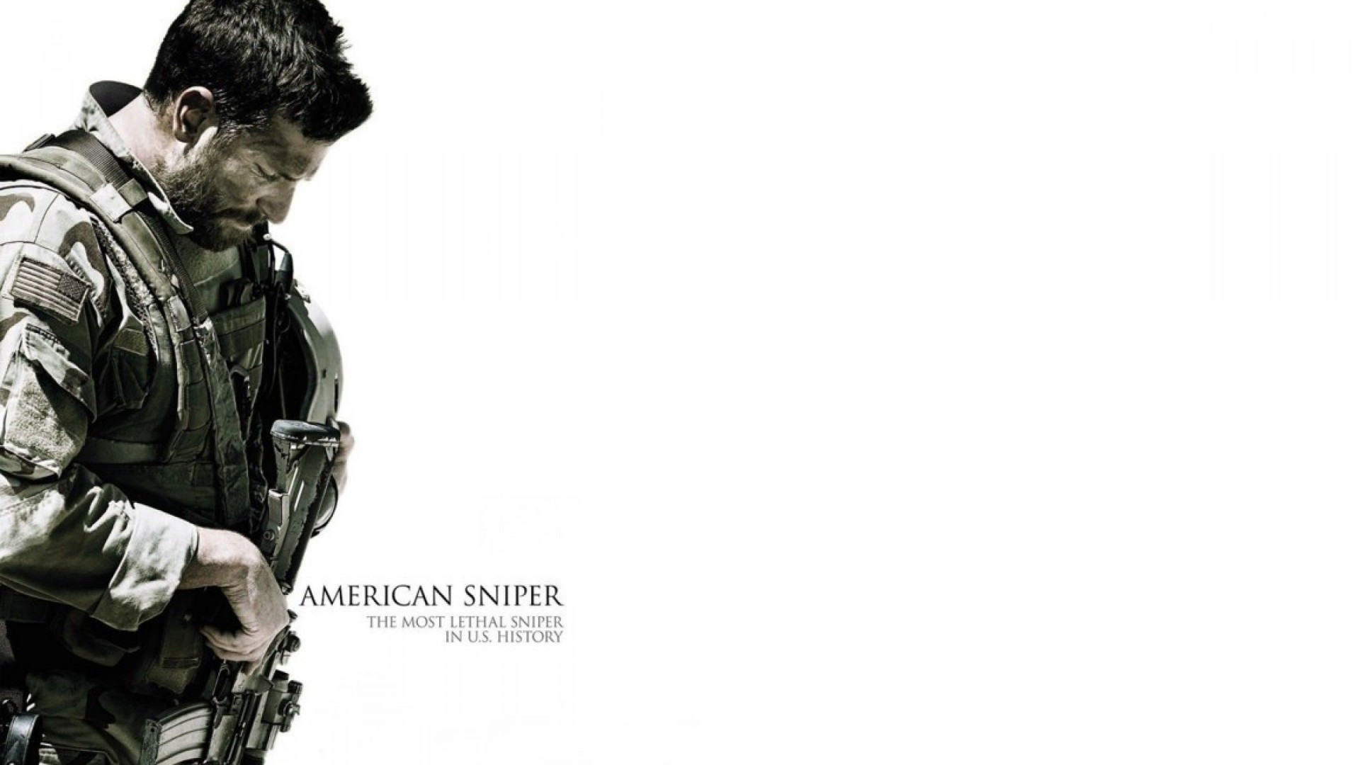 Bradley Cooper As Chris Kyle in American sniper Wallpaper for Desktop 1920x1080