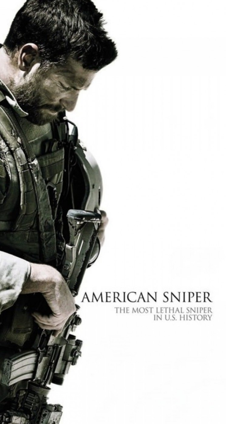 Bradley Cooper As Chris Kyle in American sniper Wallpaper for Apple iPhone 5 / 5s