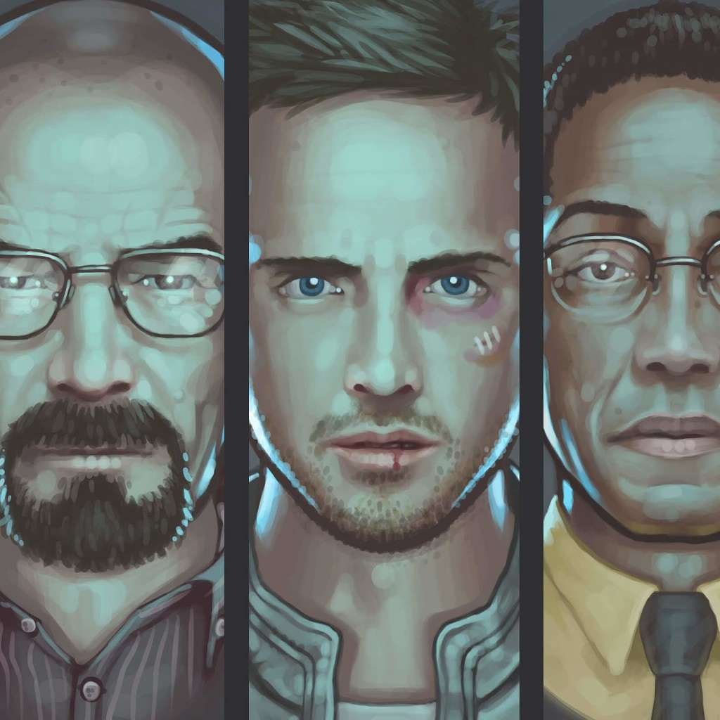 Breaking Bad Characters Wallpaper for Apple iPad 2