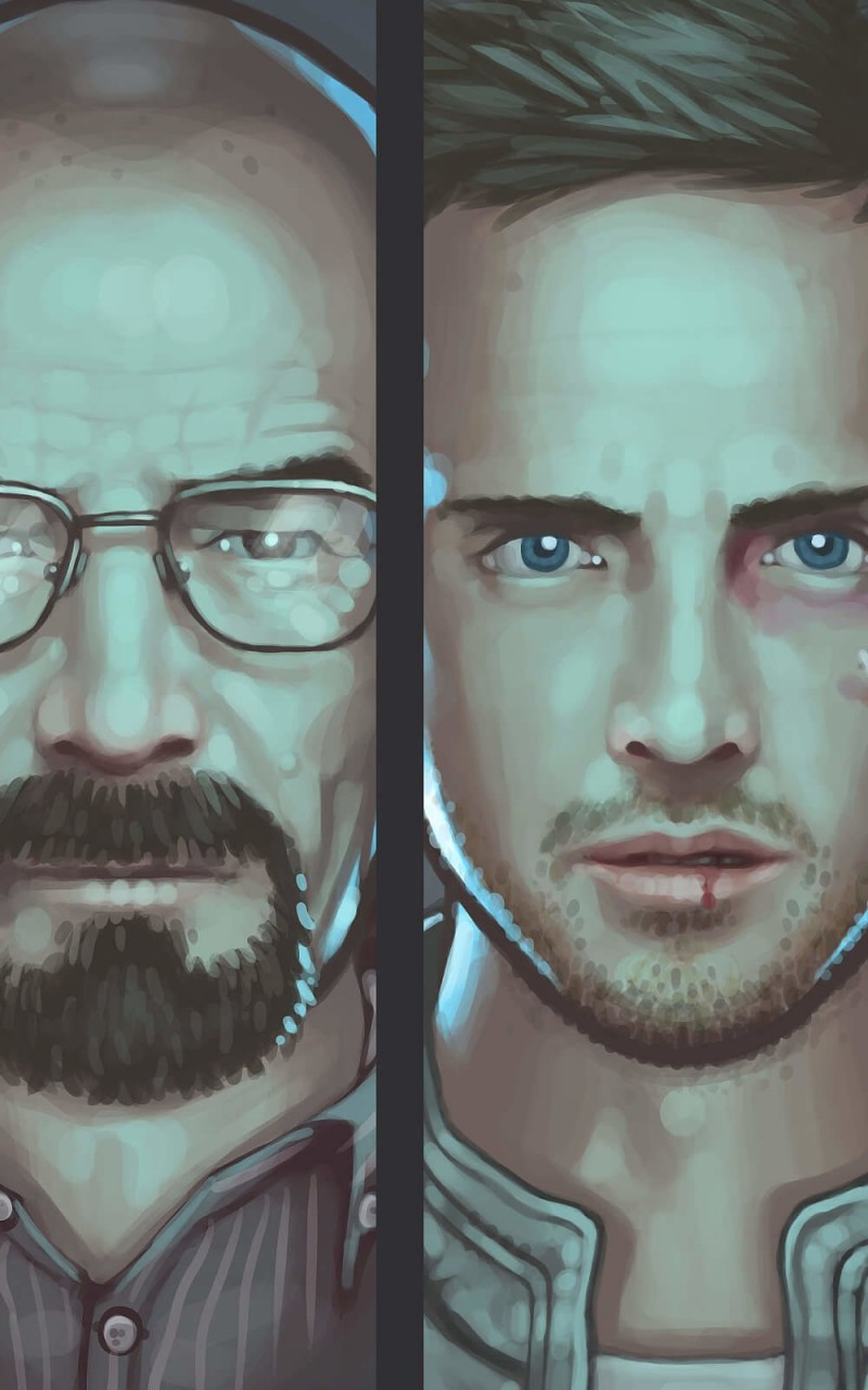 Breaking Bad Characters Wallpaper for Amazon Kindle Fire HD