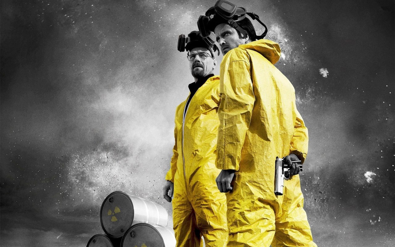 Breaking Bad - Jesse & Walt Wallpaper for Desktop 1280x800