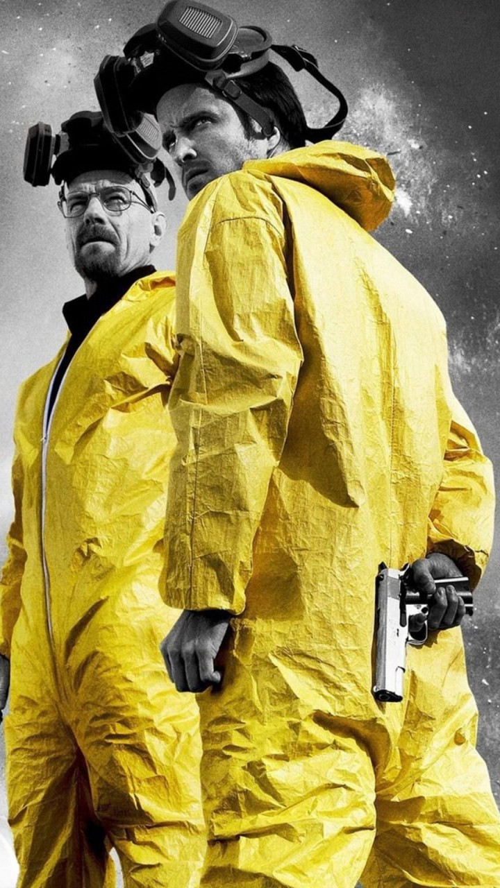 Breaking Bad - Jesse & Walt Wallpaper for Motorola Droid Razr HD