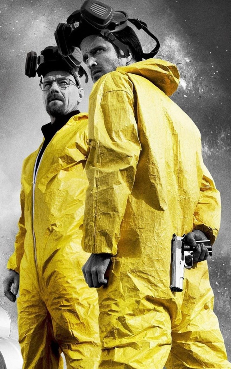 Breaking Bad - Jesse & Walt Wallpaper for Amazon Kindle Fire HD