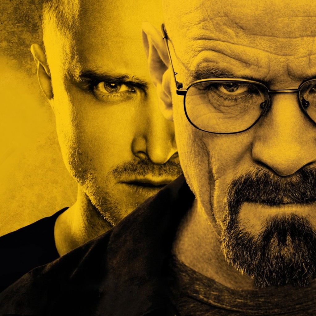 Breaking Bad - Jesse & Walter White Wallpaper for Apple iPad 2