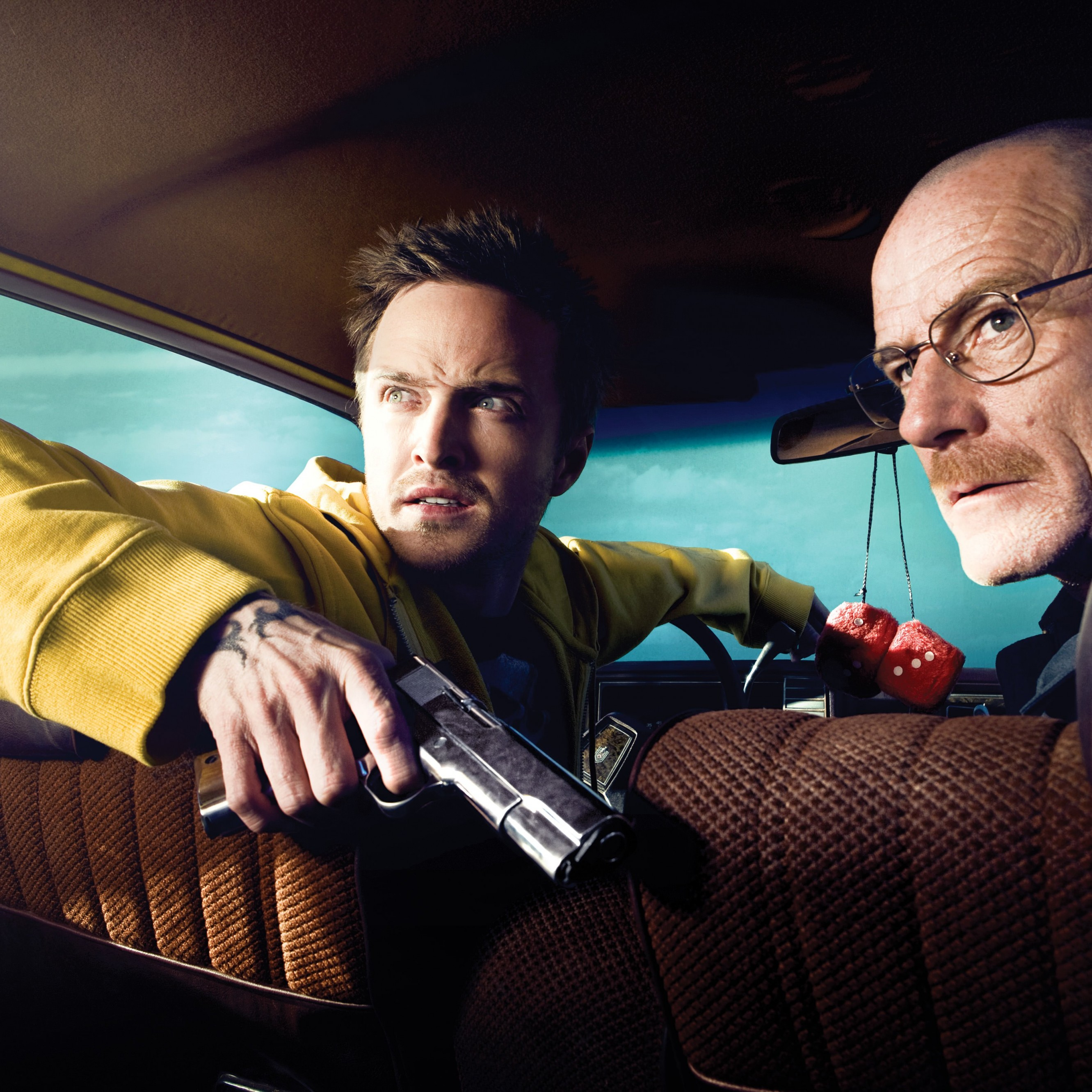 Breaking Bad - Jesse Pinkman & Walter White Wallpaper for Apple iPhone 6 Plus