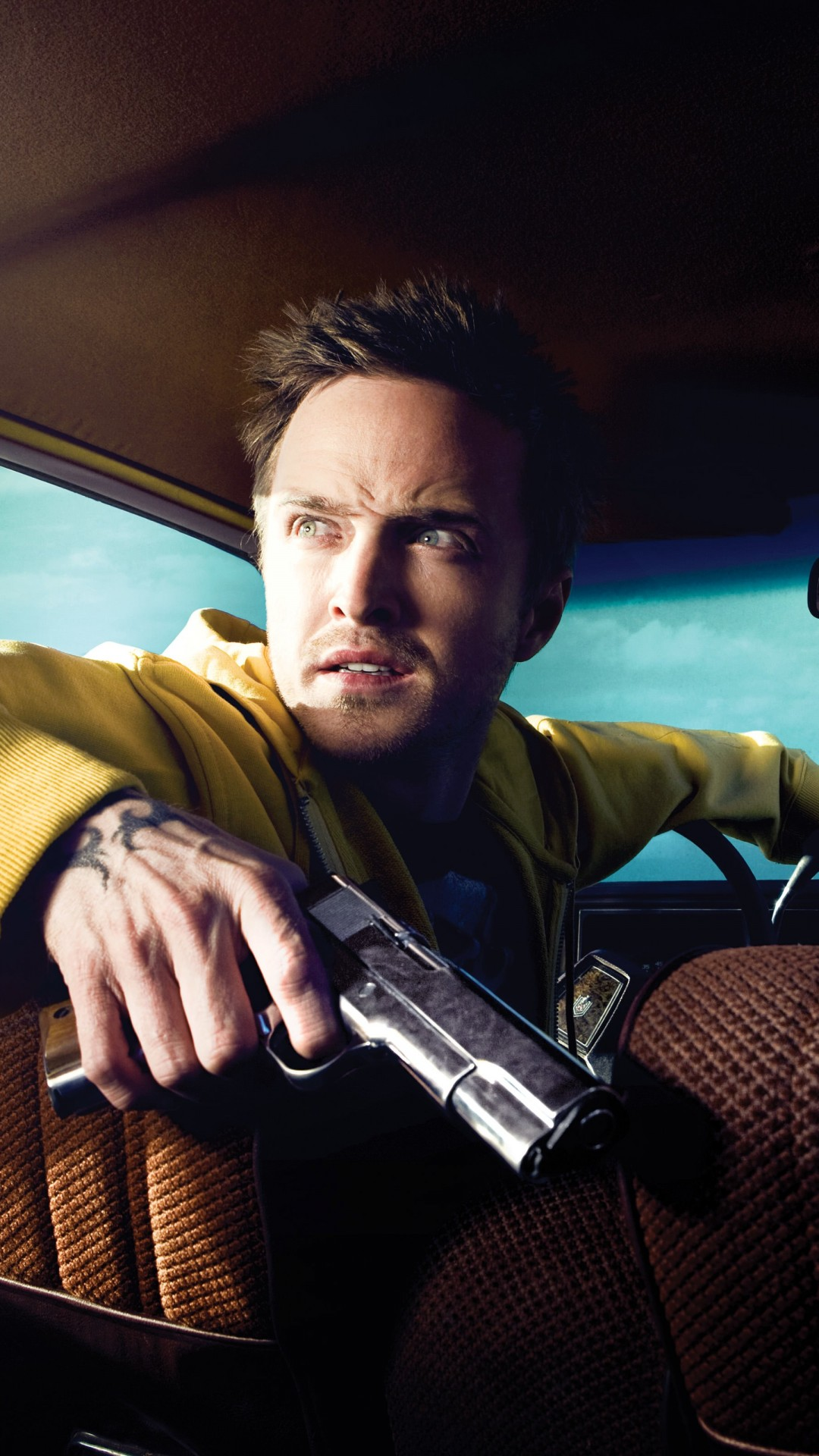 Breaking Bad - Jesse Pinkman & Walter White Wallpaper for Motorola Moto X