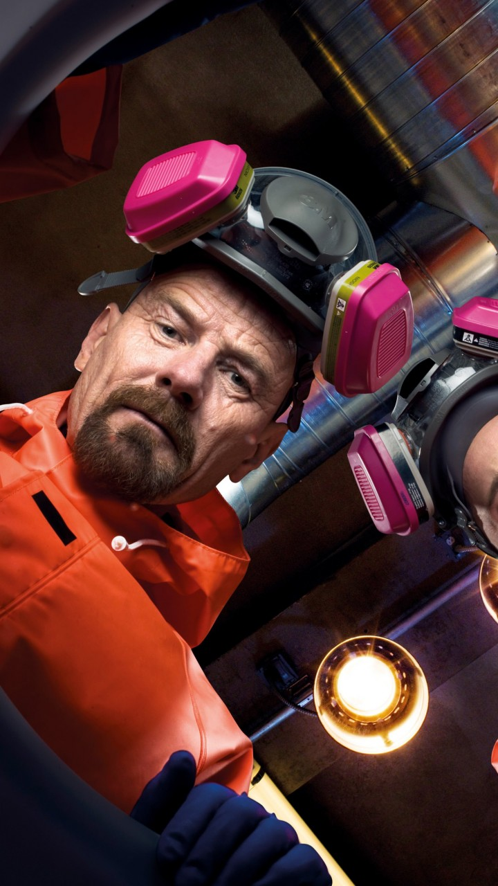 Breaking Bad - Walt & Jesse Wallpaper for Lenovo A6000