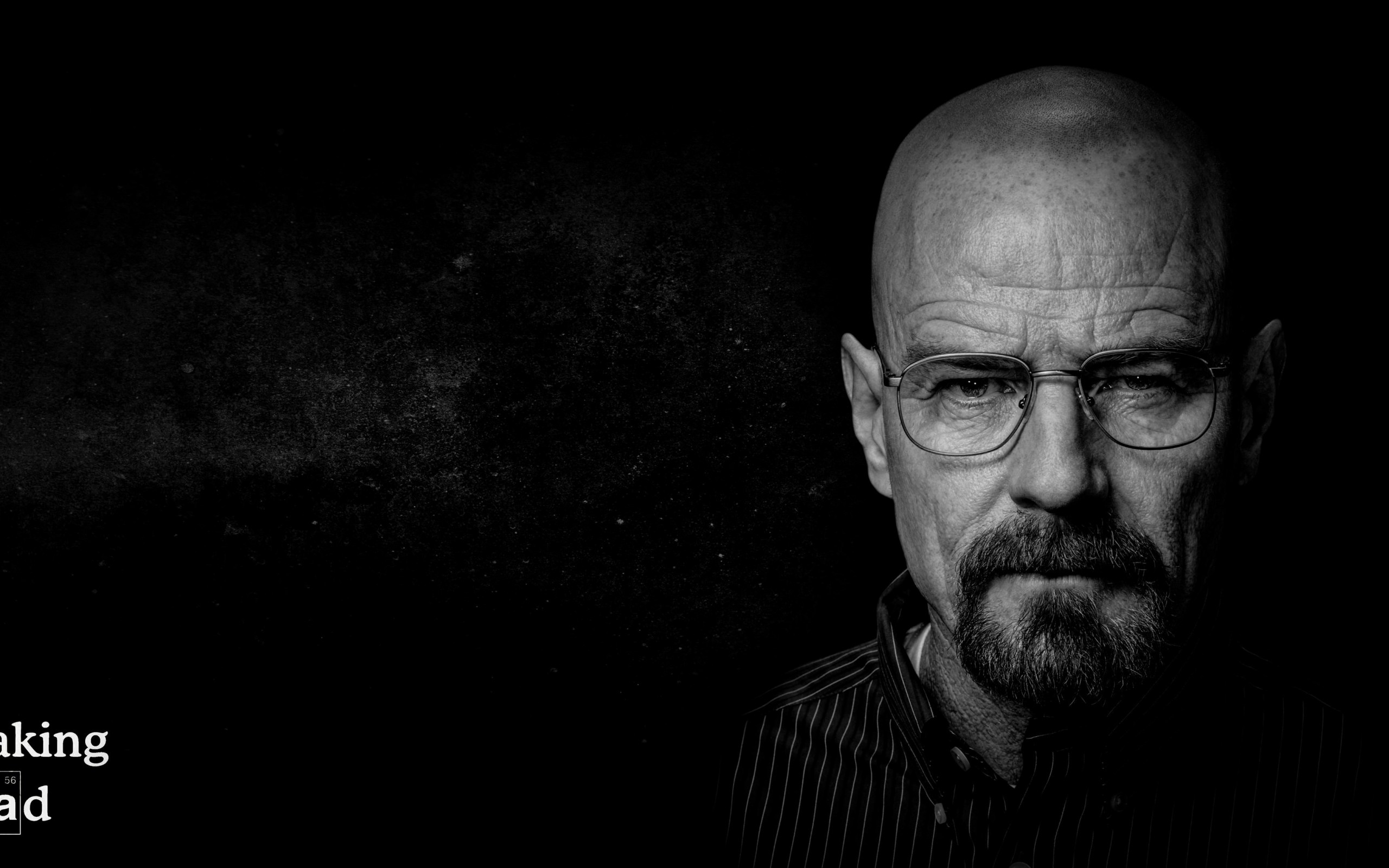 Breaking Bad - Walter White - Black & White Wallpaper for Desktop 2560x1600