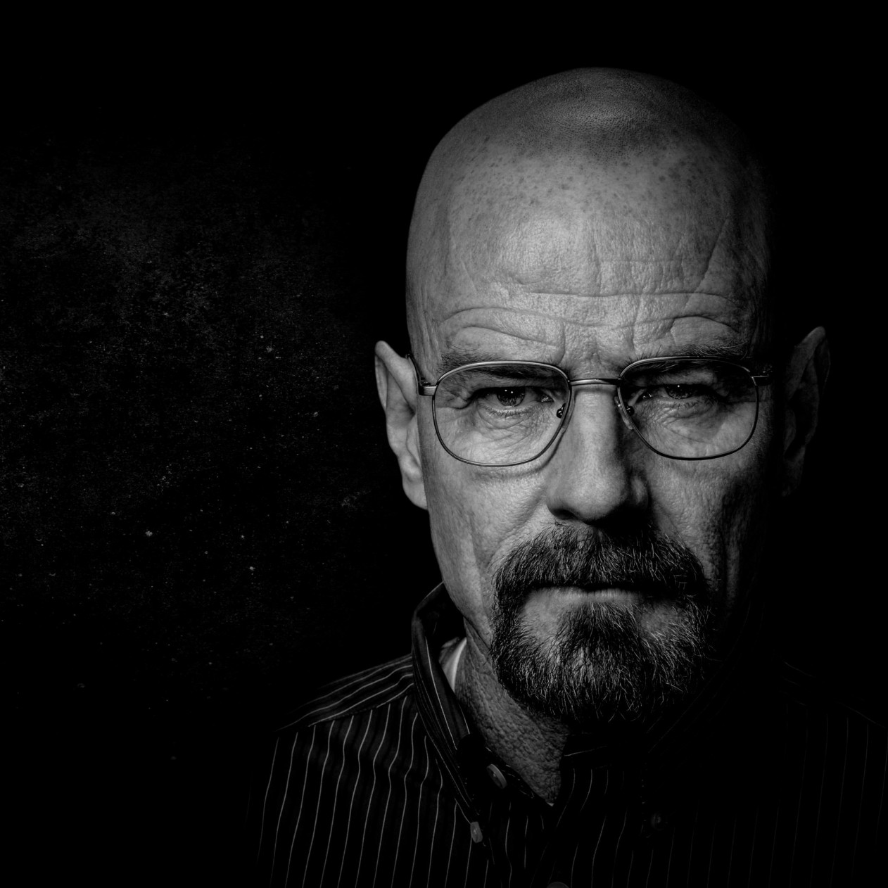 Breaking Bad - Walter White - Black & White Wallpaper for Apple iPad mini