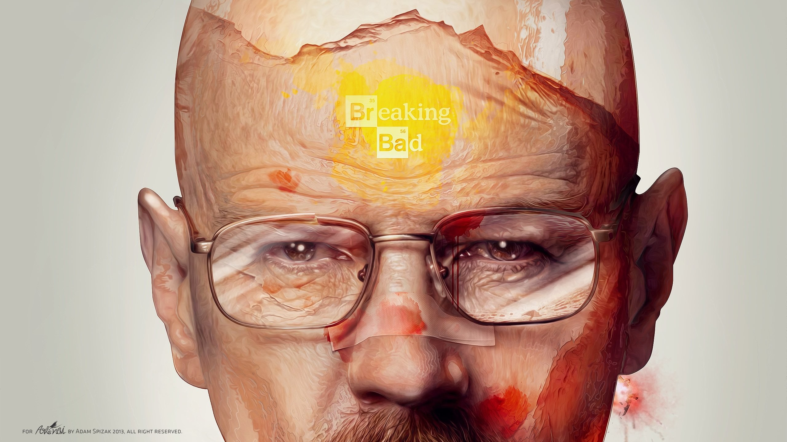Breaking Bad - Walter White Wallpaper for Desktop 2560x1440