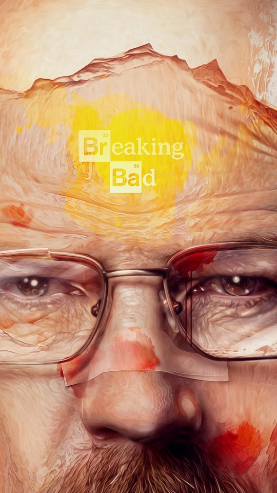 Breaking Bad - Walter White Wallpaper for SAMSUNG Galaxy S4 Mini