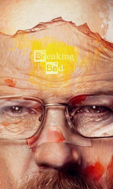 Breaking Bad - Walter White Wallpaper for HTC Desire HD