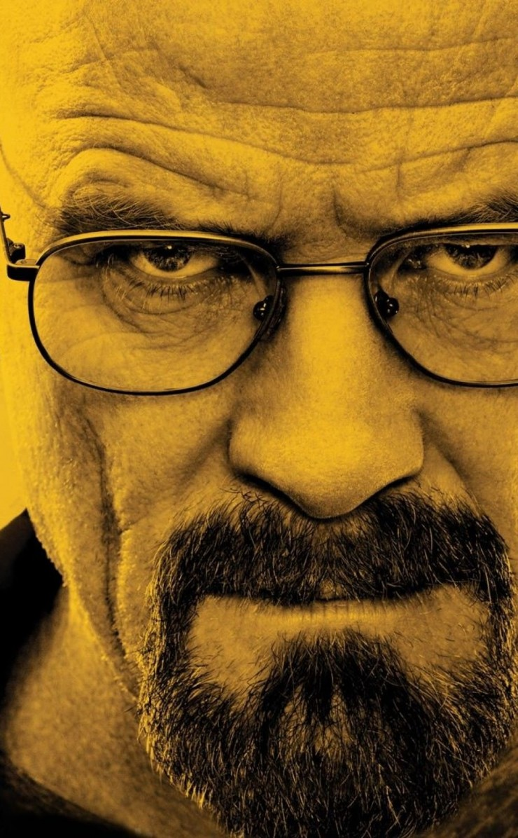 Breaking Bad - Walter White Wallpaper for Apple iPhone 4 / 4s