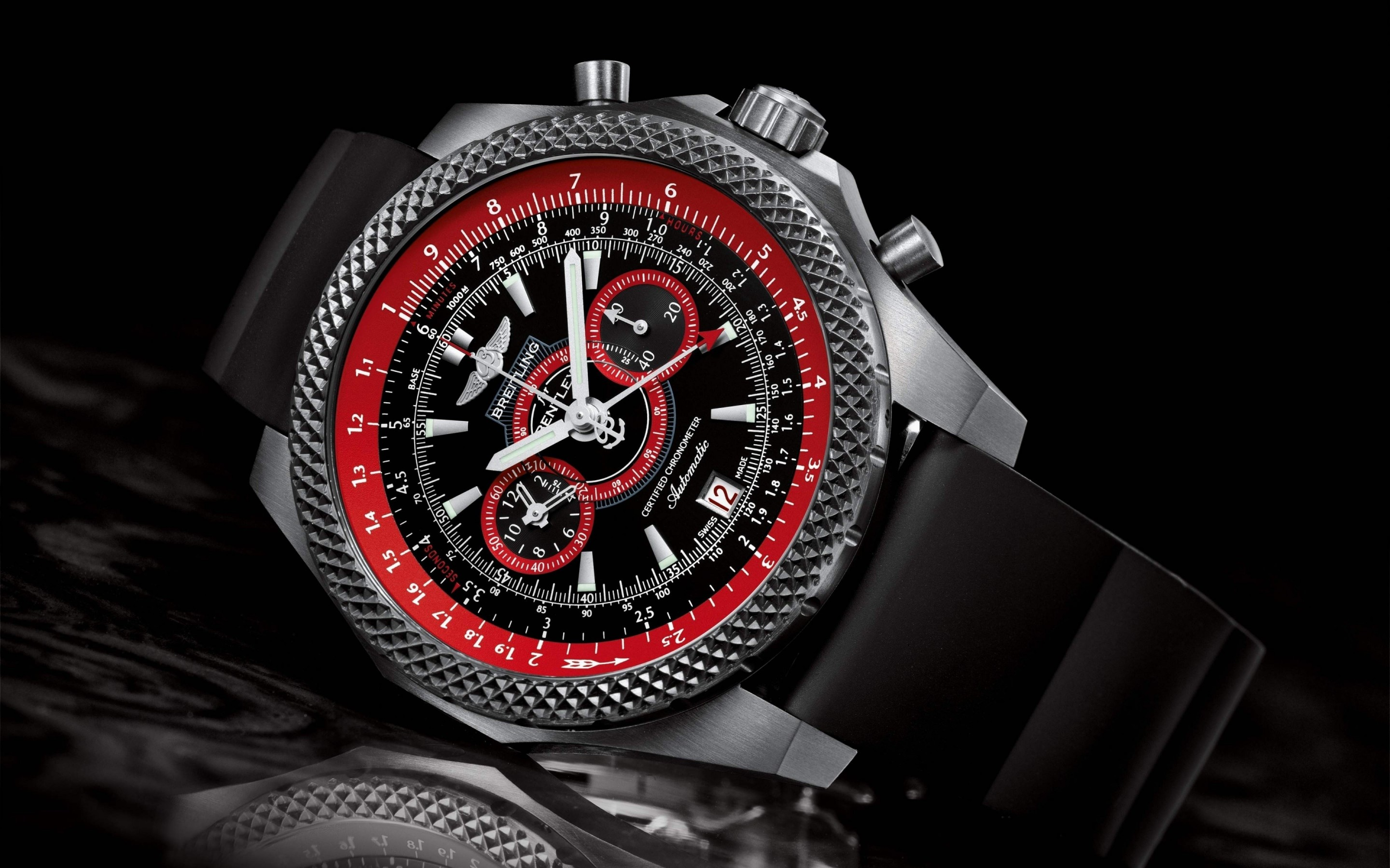 Breitling Watch Wallpaper for Desktop 2880x1800