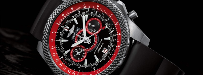 Breitling Watch Wallpaper for Social Media Facebook Cover