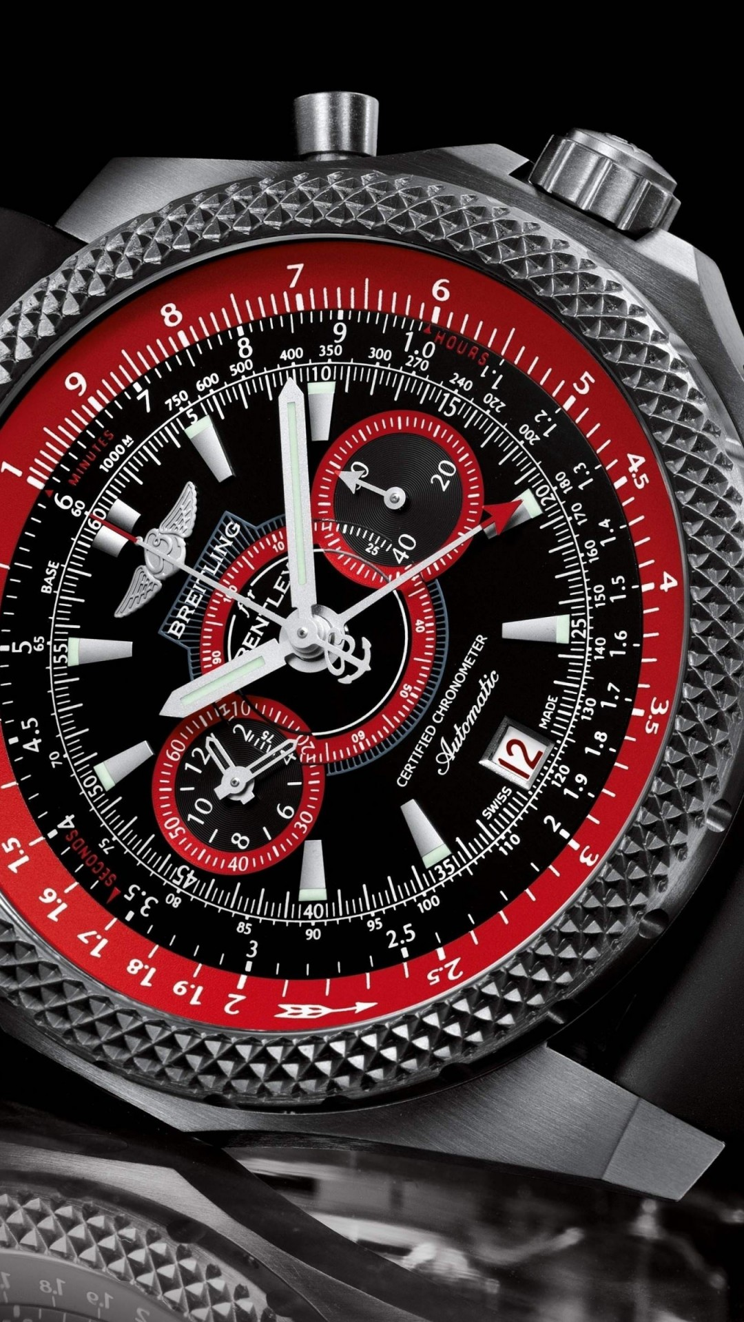 Breitling Watch Wallpaper for HTC One