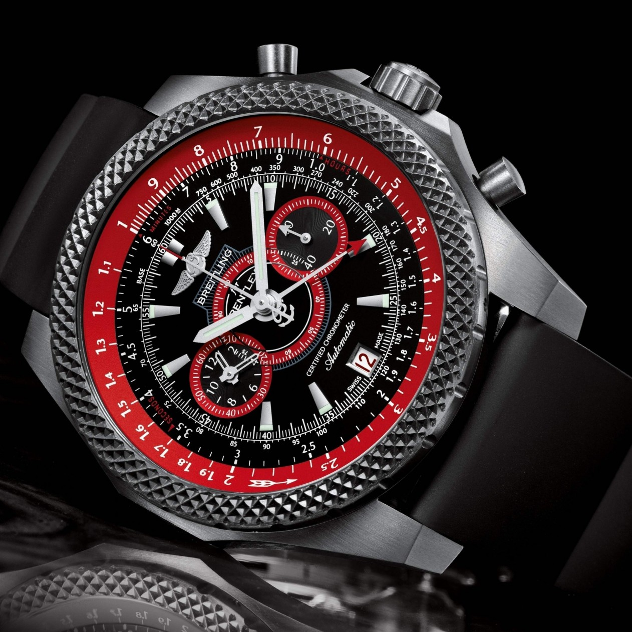 Breitling Watch Wallpaper for Apple iPad mini