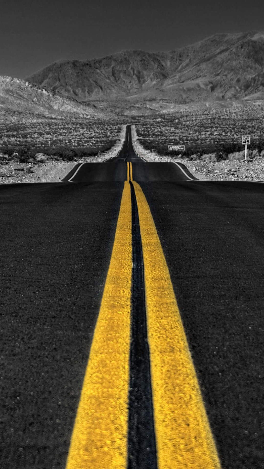 California Road Wallpaper for SAMSUNG Galaxy Note 3