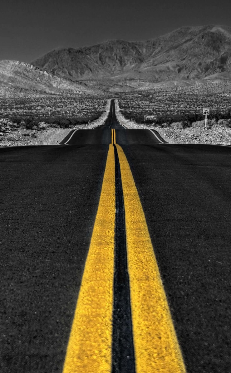 California Road Wallpaper for Apple iPhone 4 / 4s