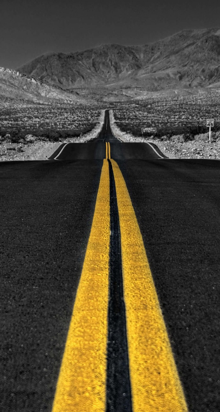 California Road Wallpaper for Apple iPhone 5 / 5s