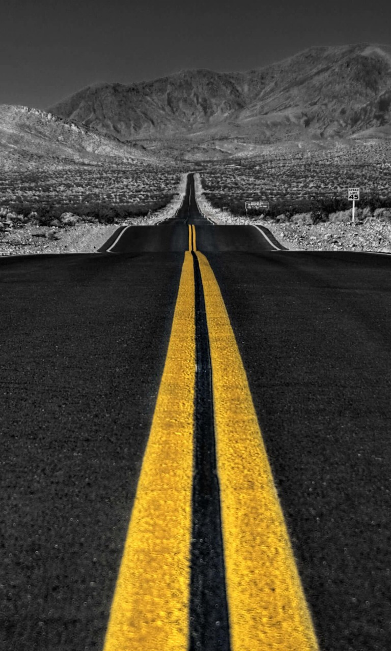 California Road Wallpaper for LG Optimus G
