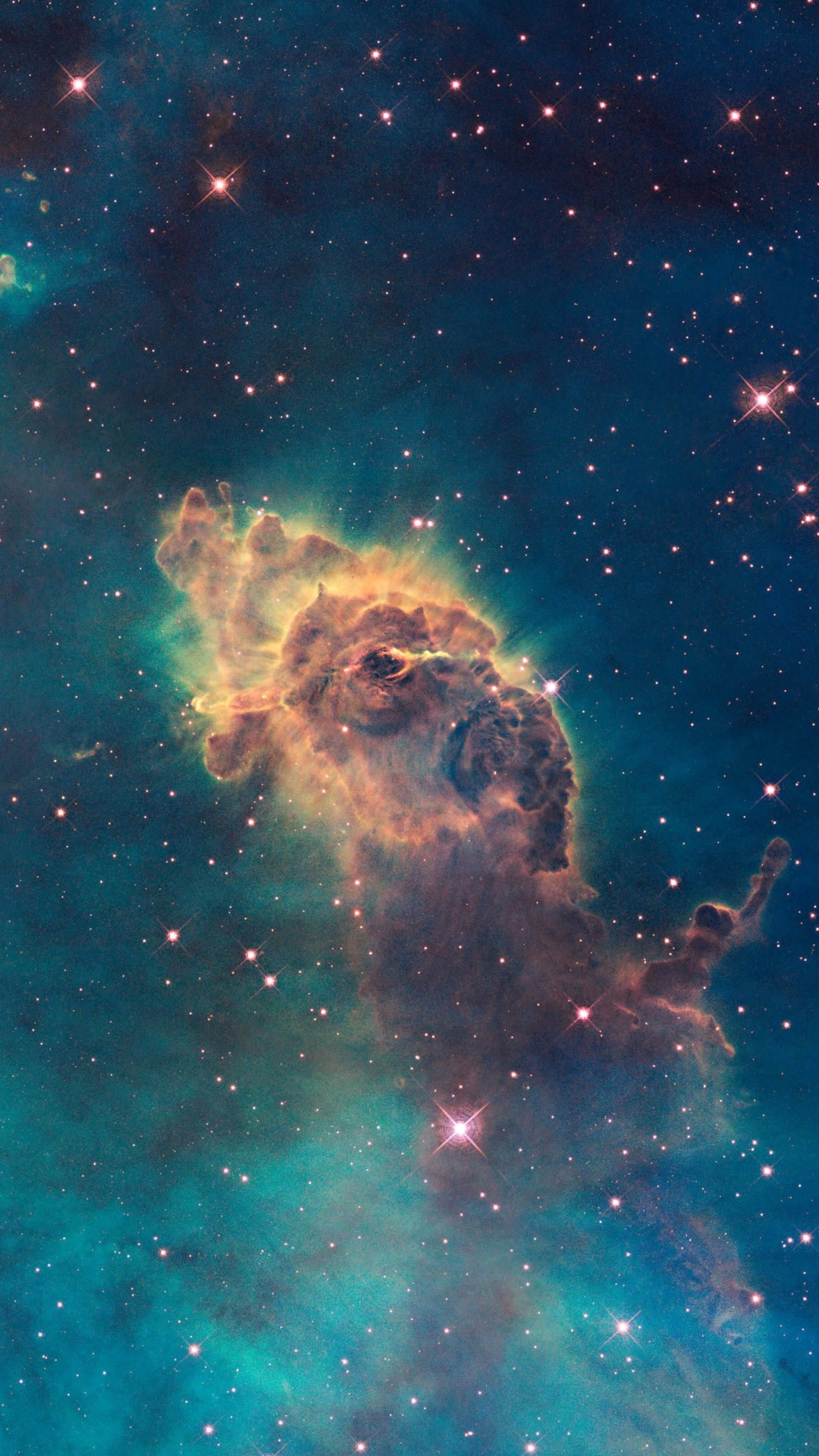 Carina Nebula Pillar Wallpaper for SAMSUNG Galaxy S4
