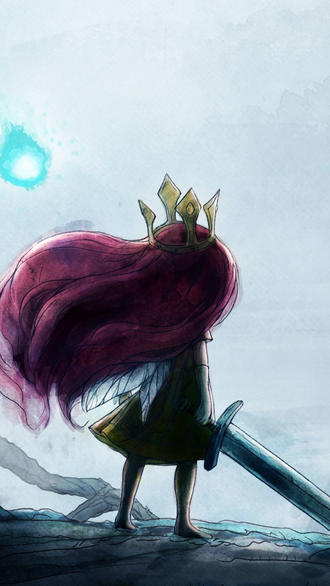 Child Of Light Wallpaper for SAMSUNG Galaxy S4