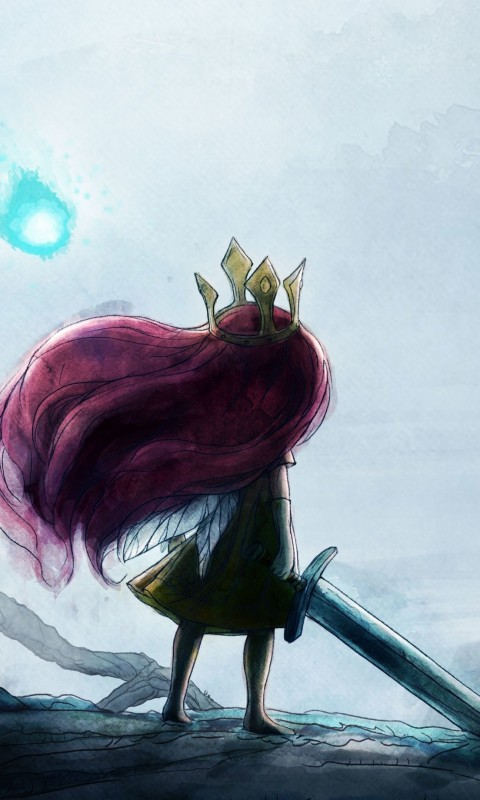 Child Of Light Wallpaper for HTC Desire HD