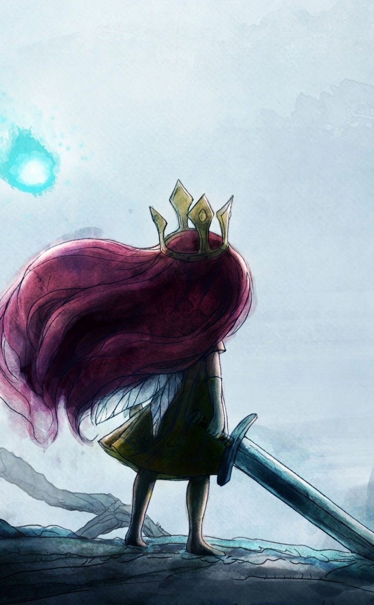 Child Of Light Wallpaper for Apple iPhone 4 / 4s