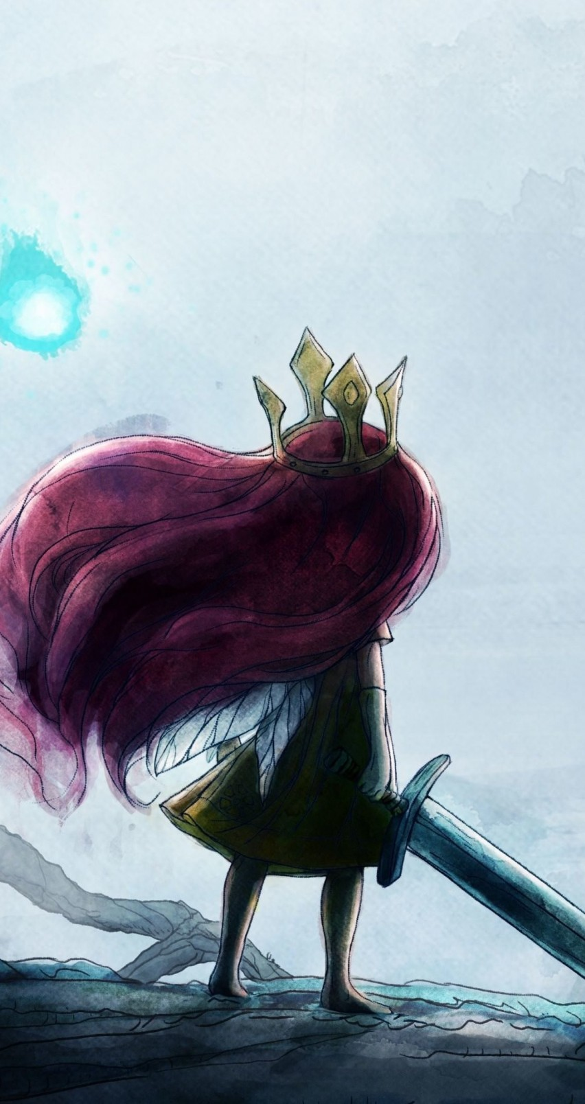 Child Of Light Wallpaper for Apple iPhone 6 / 6s