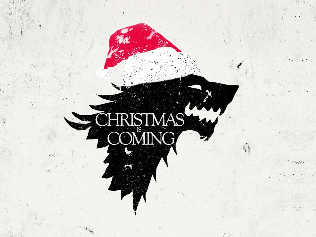 Christmas is Coming Wallpaper for Desktop 1024x768
