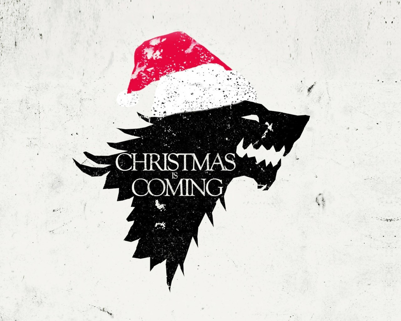 Christmas is Coming Wallpaper for Desktop 1280x1024