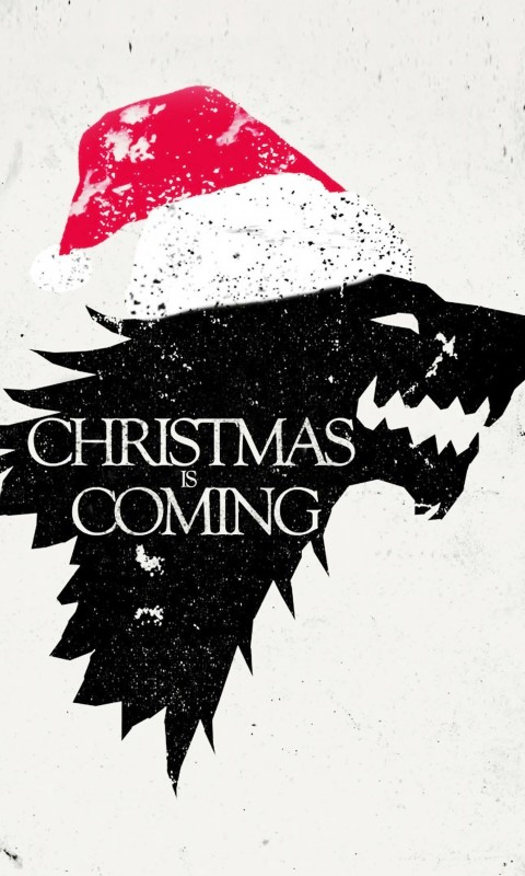 Christmas is Coming Wallpaper for HTC Desire HD