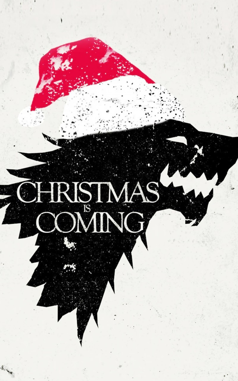 Christmas is Coming Wallpaper for Amazon Kindle Fire HD