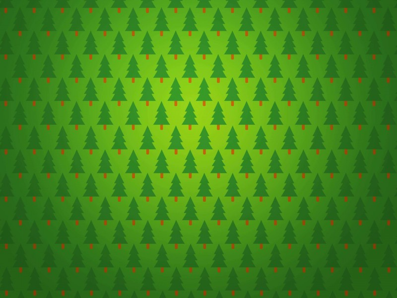 Christmas Tree Pattern Wallpaper for Desktop 800x600