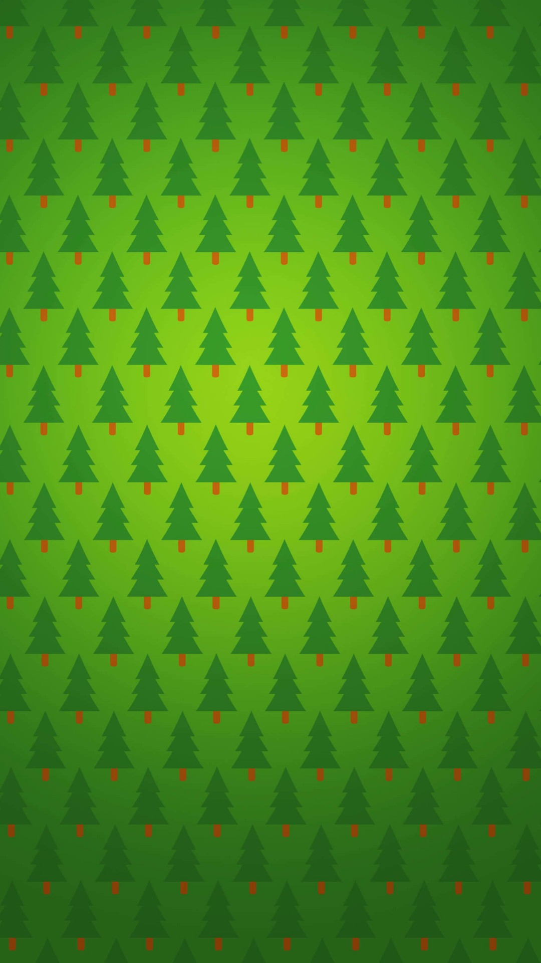 Christmas Tree Pattern Wallpaper for HTC One
