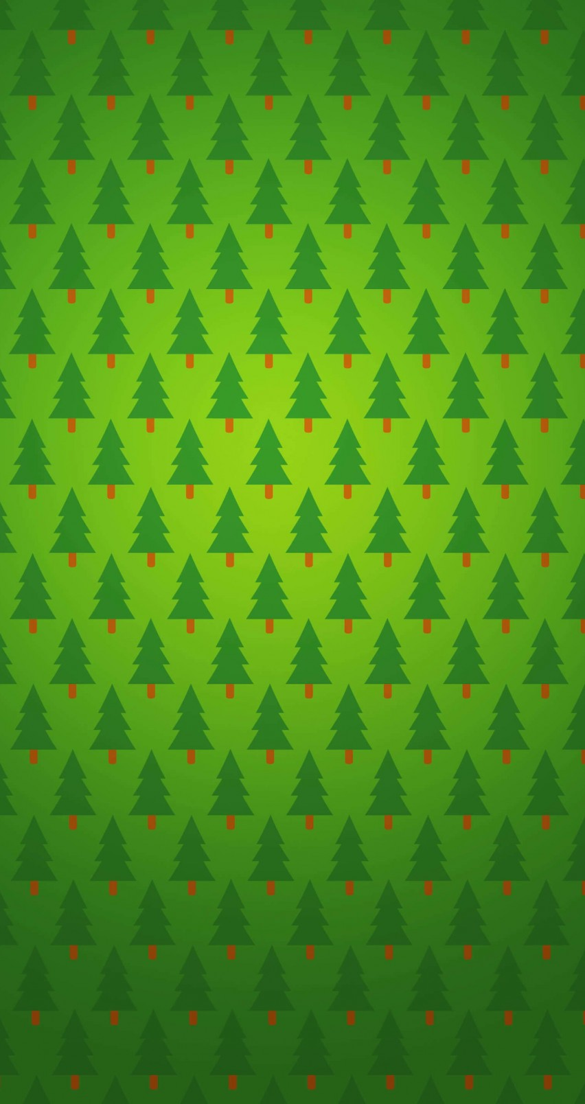 Christmas Tree Pattern Wallpaper for Apple iPhone 6 / 6s