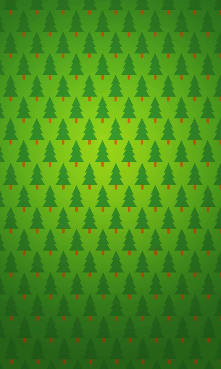 Christmas Tree Pattern Wallpaper for LG Optimus G