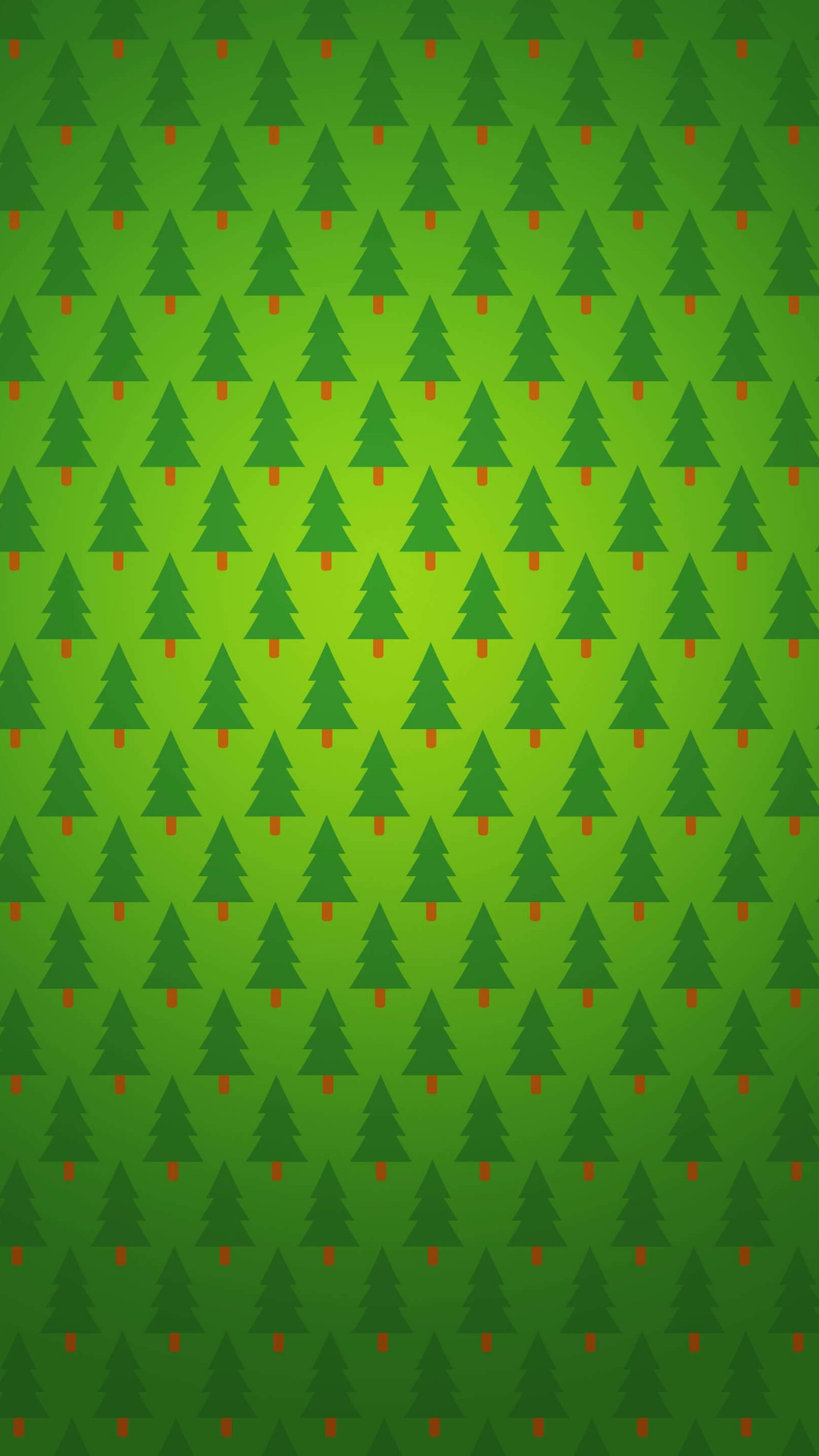 Christmas Tree Pattern Wallpaper for SAMSUNG Galaxy S6