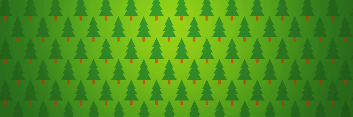 Download Christmas Tree Pattern HD wallpaper for Twitter Header ...