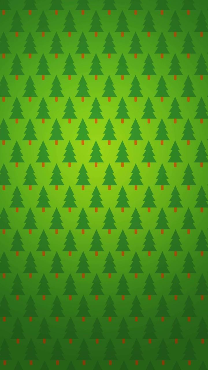 Xiaomi Redmi 1S Wallpapers: Download Christmas Tree Pattern HD Wallpaper For Redmi 1S