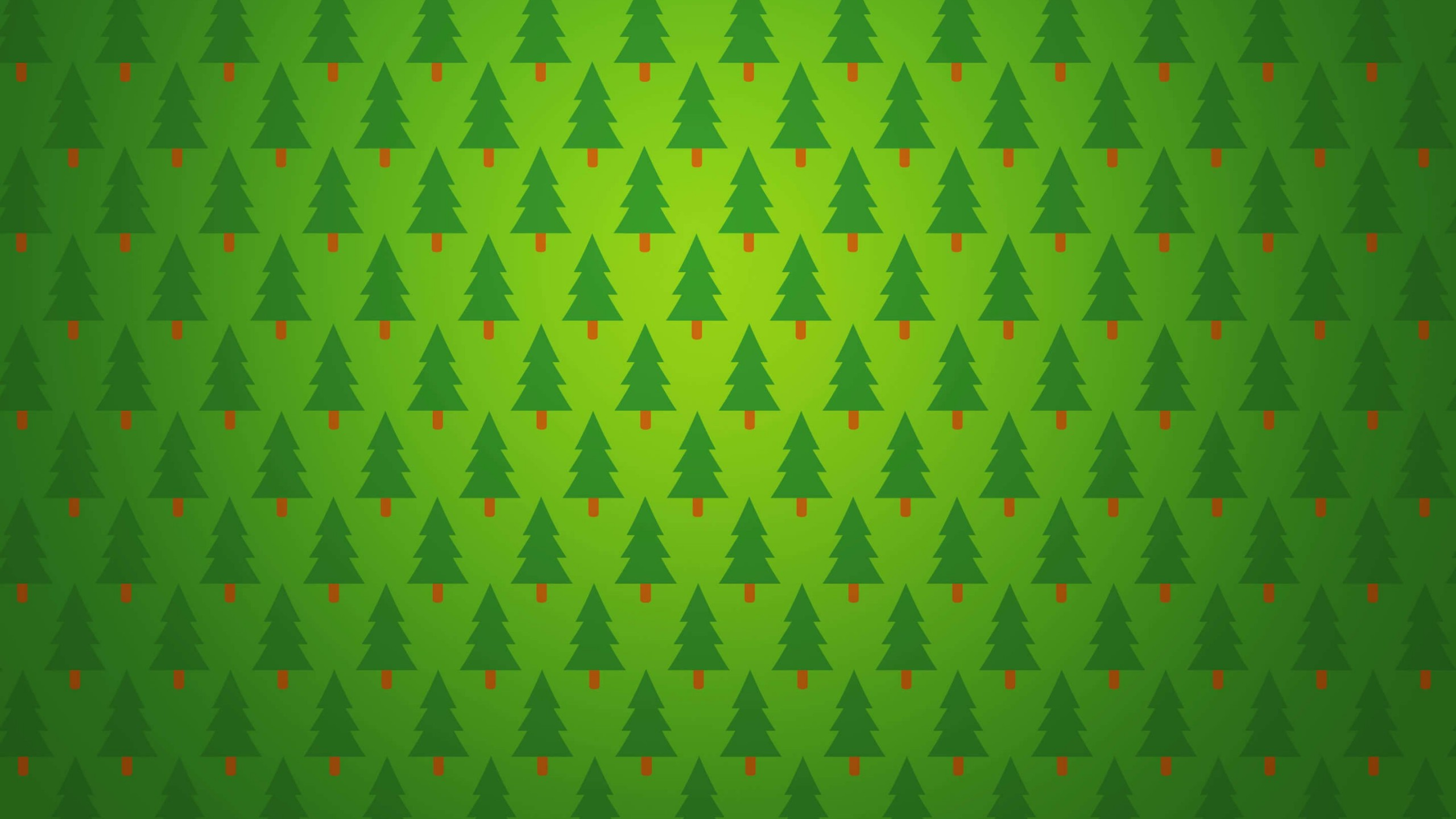 Christmas Tree Pattern Wallpaper for Social Media YouTube Channel Art