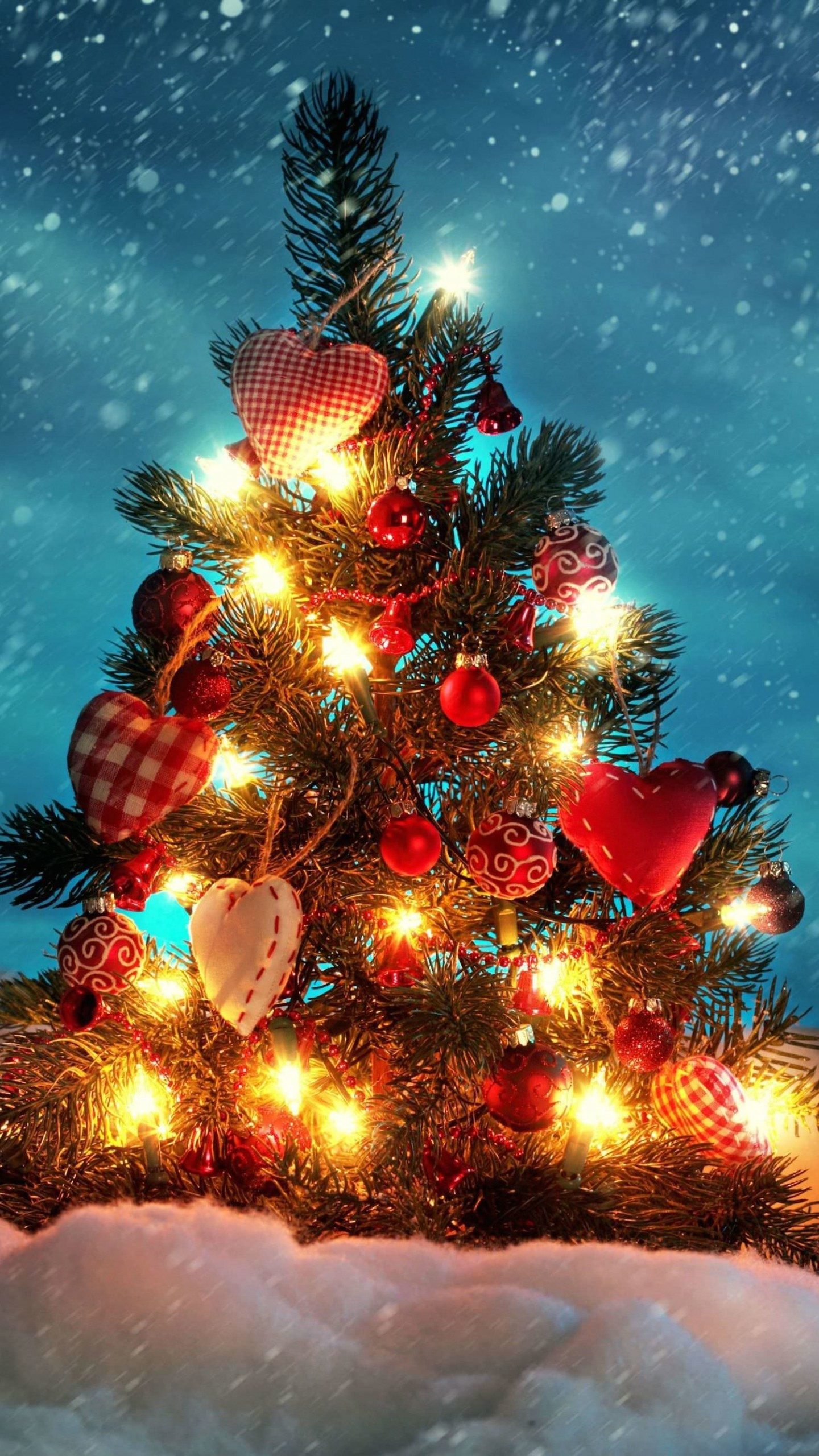 Christmas Tree Wallpaper for SAMSUNG Galaxy Note 4