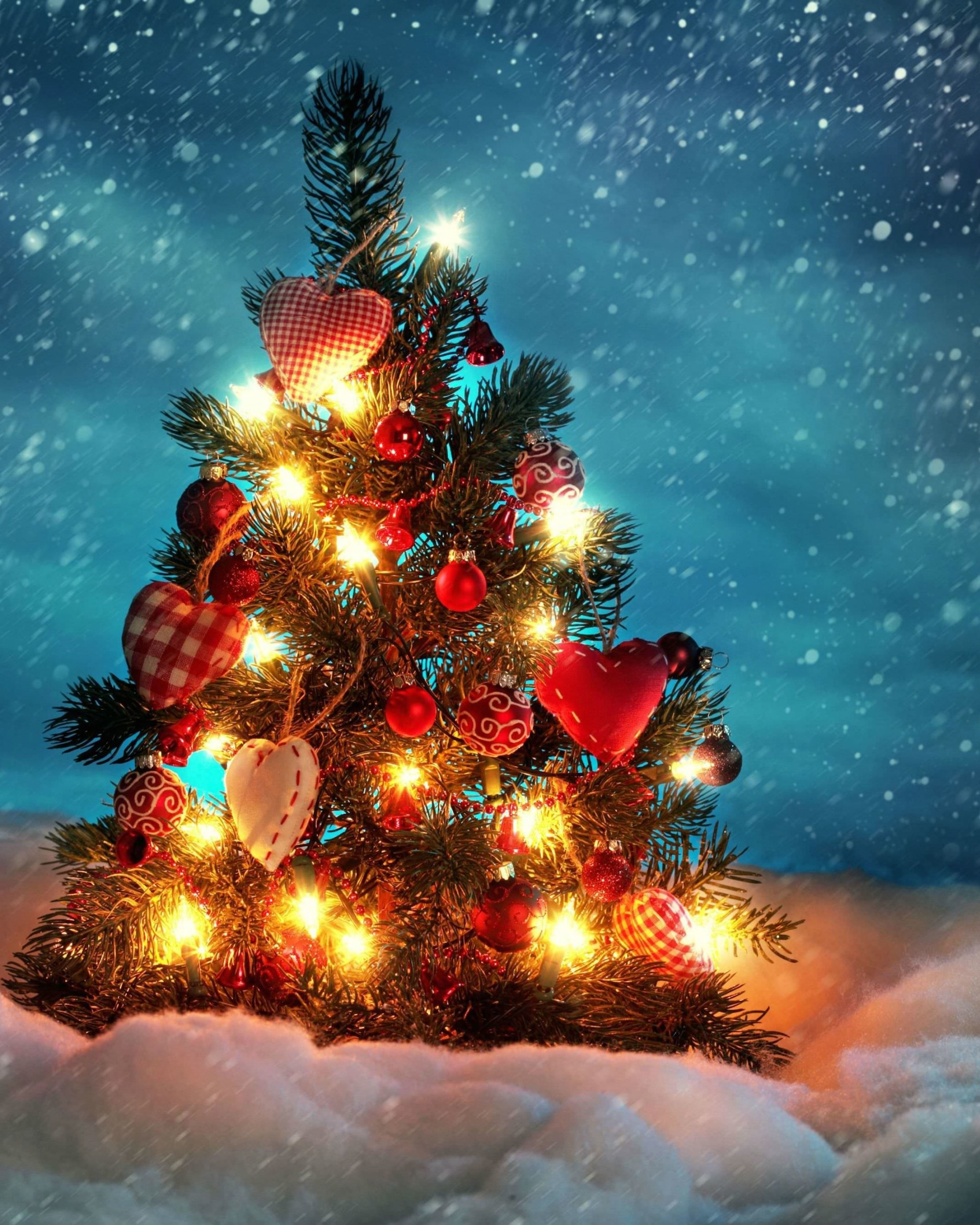 Christmas Tree Wallpaper for Google Nexus 7